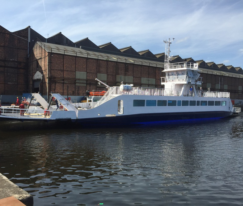 Commissioning nears completion ahead of harbour and sea trials